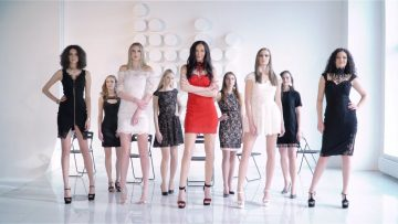 Worlds Tallest Models Бэкстейдж